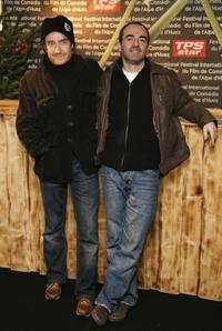 Thierry Fremont and Bruno Solo at the opening night of the 10th comedian film festival of