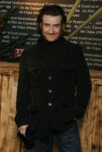 Thierry Fremont at the opening night of the 10th comedian film festival of