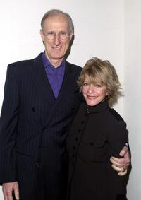 James Cromwell and Julie Cobb at the Pre Golden Globes private reception.