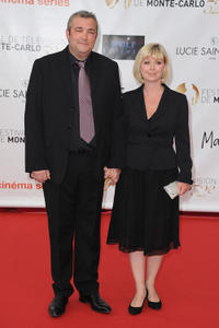 Laurent Gamelon and Guest at the opening ceremony of 52nd Monte Carlo TV Festival.