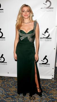 Claudia Gerini at the American-Italian Cancer Foundation Annual Benefit Gala.