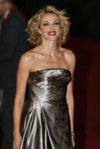 Claudia Gerini at the premiere of