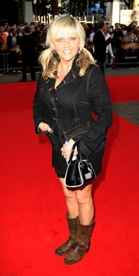 Camille Coduri at the UK premiere of
