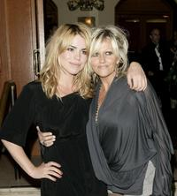 Billie Piper and Camille Coduri at the National Television Awards 2006.