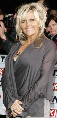 Camille Coduri at the National Television Awards 2006.