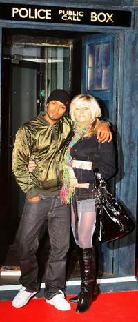 Noel Clarke and Camille Coduri at the gala screening of