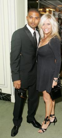 Noel Clarke and Camille Coduri at the TV Quick and TV Choice Awards.