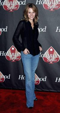 Jessalyn Gilsig at the HollywoodPoker.com's first year anniversary party.