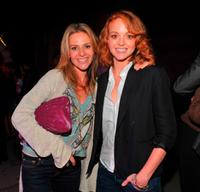 Jessalyn Gilsig and Jayma Mays at the premiere of