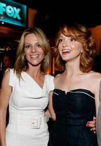 Jessalyn Gilsig and Jayma Mays at the Fox's Upfront presentation.