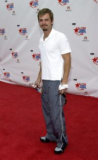 Carmine Giovinazzo at the HBO All Star Family Sports Jam to benefit Children's Hospital.