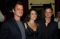 Carmine Giovinazzo, Melina Kanakaredes and Gary Sinise at the