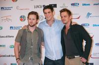 A.J. Buckley, Eddie Cahill and Carmine Giovinazzo at the Roma Fiction Fest 2008 Closing Ceremony and Diamond Awards.