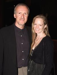 James Cameron and Suzy Amis at the world premiere of
