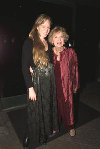 Suzy Amis and Gloria Stuart at the world premiere of