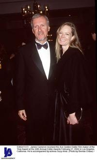 Suzy Amis, James Cameron at the 50th Annual Eddie Awards.