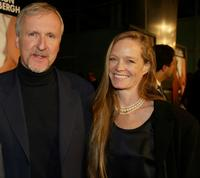 James Cameron and Suzy Amis at the premiere of