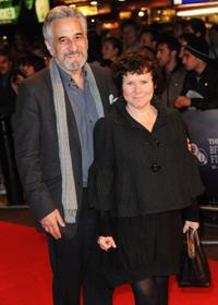 Henry Goodman and Imelda Staunton at the premiere of