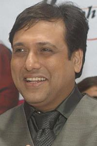 Govinda at the press conference of