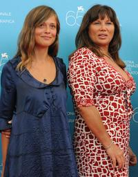 Valeria Bilello and Serena Grandi at the photocall of