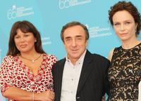 Serena Grandi, Silvio Orlando and Francesca Neri at the photocall of