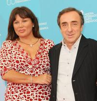 Serena Grandi and Silvio Orlando at the photocall of