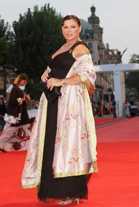 Serena Grandi at the premiere of