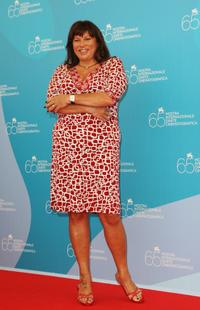 Serena Grandi at the photocall of