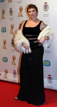 Serena Grandi at the TV, Sport, Cinema And Music Italian Awards.