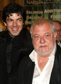 Pier Francesco Favino and Vincent Grass at the premiere of