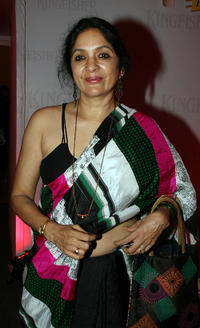 Neena Gupta at the Lakme Fashion Week winter/festive 2010 show.