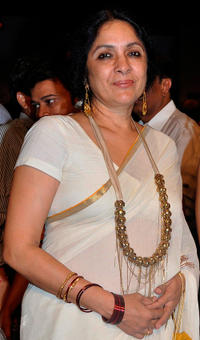 Neena Gupta at the India International Jewellery Week 2010.