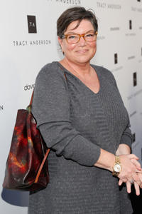 Mindy Cohn at the opening of Tracy Anderson Flagship Studio in California.