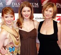 Karoline Herfurth, Rachel Hurd-Wood and Corinna Harfouch at the premiere of