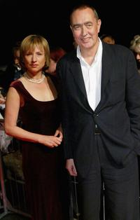Corinna Harfouch and Bernd Eichinger at the Berlin premiere of
