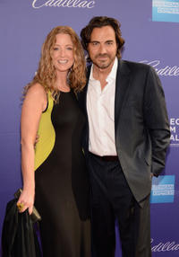 Susan Haskell and Thorsten Kaye at the World premiere of