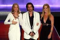 Kassie DePaiva, Michael Easton and Susan Haskell at the 35th Annual Daytime Emmy Awards.