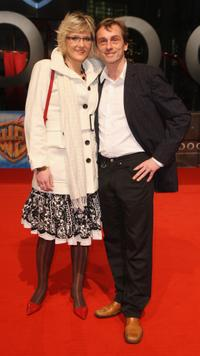 Denise Gebhardt and Andre Hennicke at the world premiere of