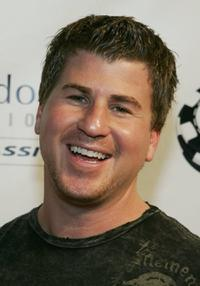 Jason Hervey at the Jeff Gordon Foundation Poker Classic.