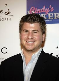Jason Hervey at the Grand Opening of Guy's North.