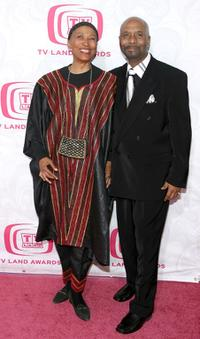 Olivia Cole and Guest at the 5th Annual TV Land Awards.