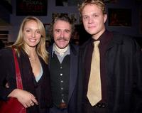 Anja Coleby, Robert Coleby and Conrad Coleby at the launch of the AFI (Australian Film Institute) awards screen events.