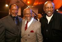 John Amos, Captin Bill Pinkney and Louis Gossett Jr. at the 5th Annual TV Land Awards - backstage.