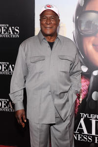 John Amos at the New York premiere of