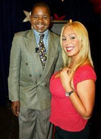 Gary Coleman and Mary Carey at the press conference to announce the Game Show Network's new show