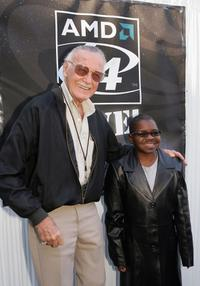 Gary Coleman and Stan Lee at the Video Games Live.
