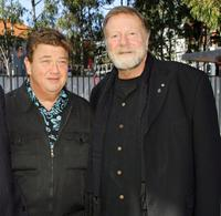 Jonathan Coleman and Jack Thompson at the 30th Anniversary Golden Stave Rock 'n Roll Musical Extravaganza charity lunch.