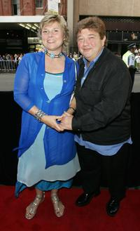 Margo Montala and Jonathan Coleman at the Sydney premiere of
