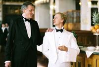 Martin Huba as front waiter Skrivanek and Ivan Barnev as Jan Dite in