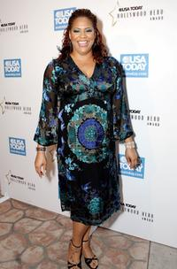 Kim Coles at the celebration honoring Geena Davis as this year's Hollywood Hero.
